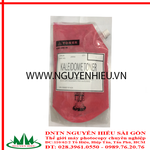 Mực máy photocopy màu đỏ Ricoh MPC 6501 /Toshiba 5540c