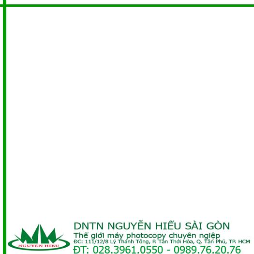Hướng dẫn sử dụng máy photocopy kỹ thuật số ( phần 1)